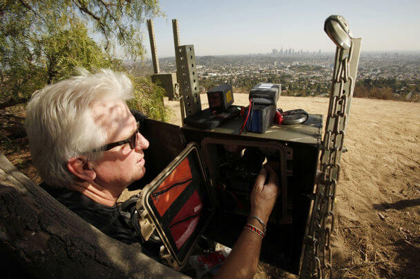 Steve White Camera Trap Griffith Park
